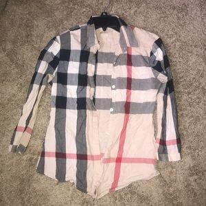 Burberry Tops - Burberry Button up